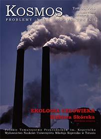 Wyświetl Tom 65 Nr 4 (2016): Ekologia człowieka